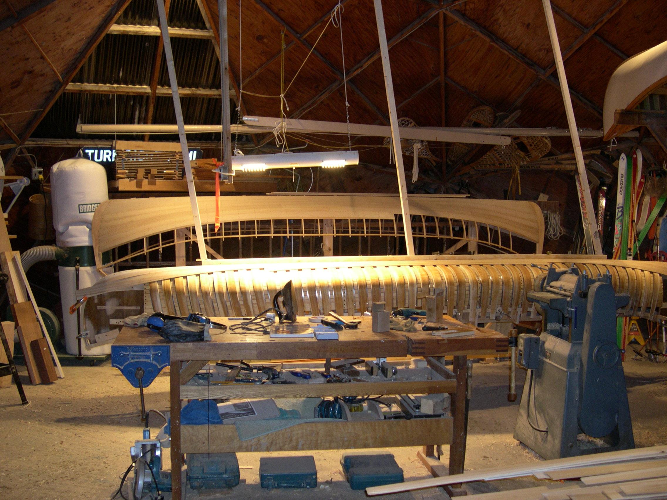 Building a Grand Laker-type canoe Part 2 – Steve Reynolds blog